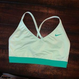 Nike Mint Green Sport Bra